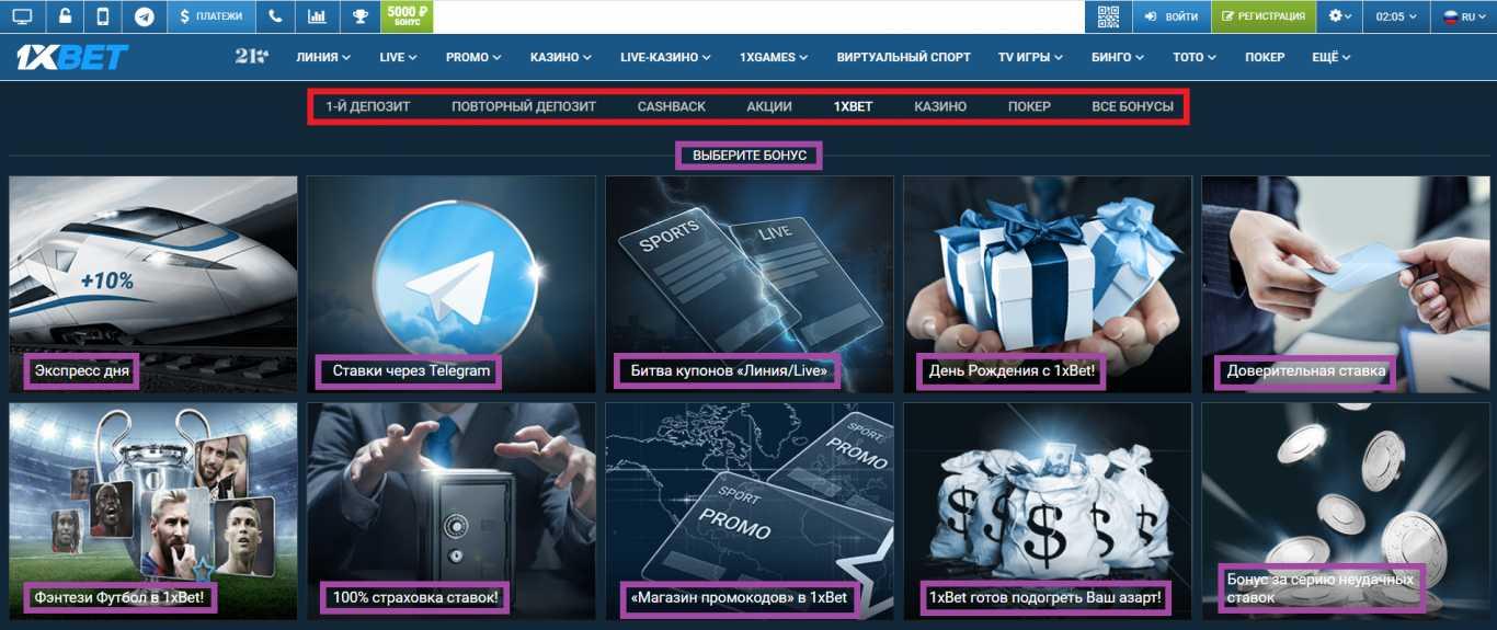 Зеркало сайта и преимущества компании 1xBet